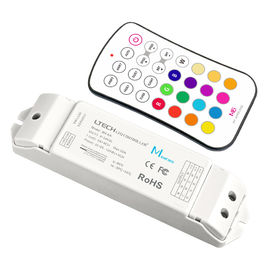 Chiny Kontroler LED Light Strip Rf, Led Strip Light Dimmer Unit With Wireless Controller dystrybutor